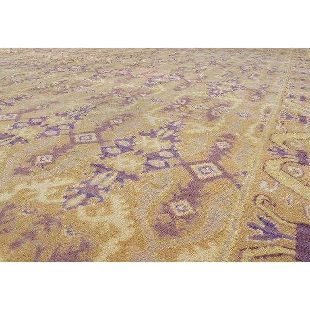 Mediterranean Spanish Carpet For Sale - Image 3 of 10