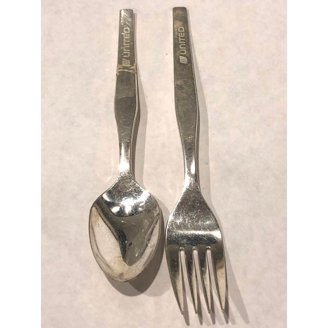 International Silver United Airline Vintage Flatware - For Sale - Image 4 of 8