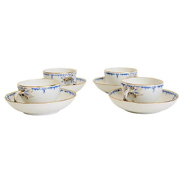 Royal Berlin Cups & Saucers- Set of 4 - Image 2 of 7