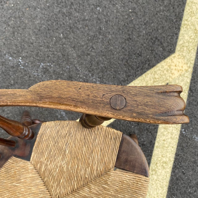 Antique Sack Back Windsor Chair For Sale - Image 9 of 13