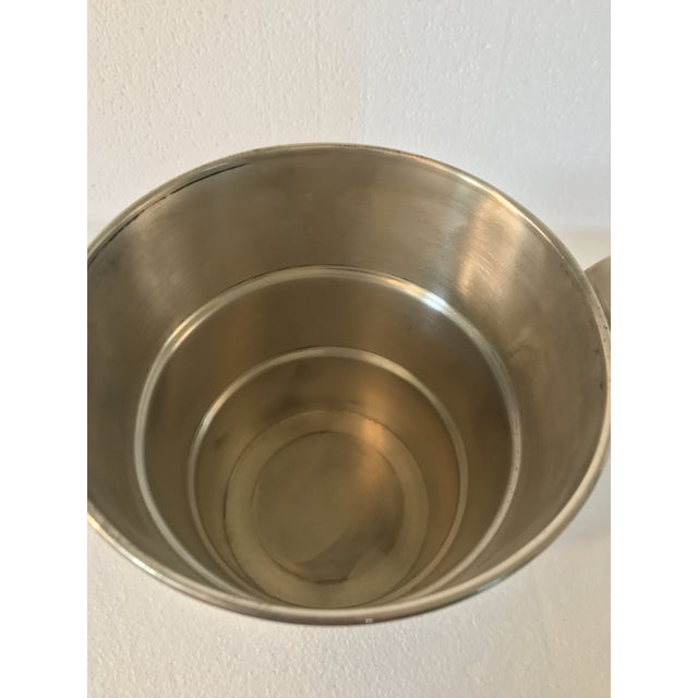 Contemporary Sterling 925 Wine Cooler Ice Bucket For Sale - Image 3 of 11