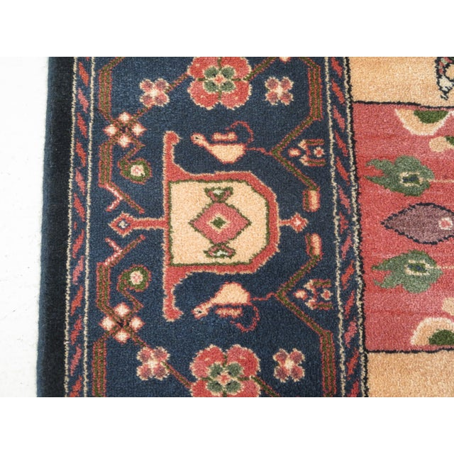 1990s Vintage Karastan Pictorial Rug- 8′7″ × 11′6″ For Sale - Image 4 of 10