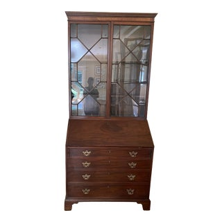 Antique Georgian Secretary Desk For Sale