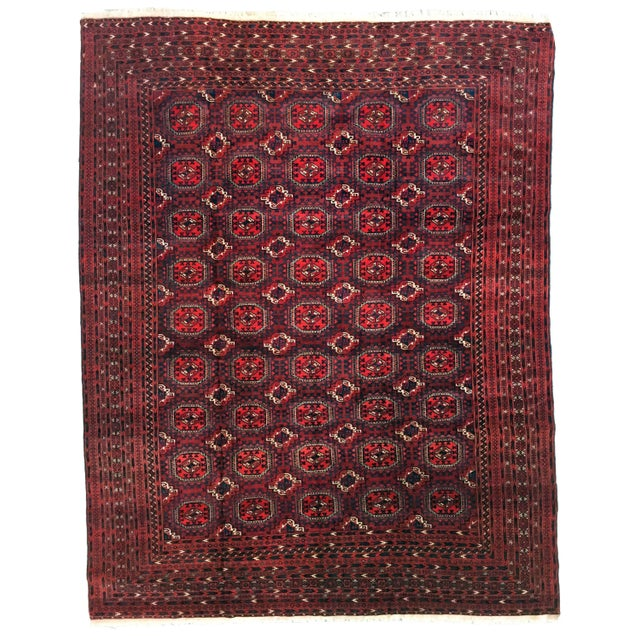 "Yom Turcoman Area Rug - 8'8"" x 11'3"" - Image 1 of 5"