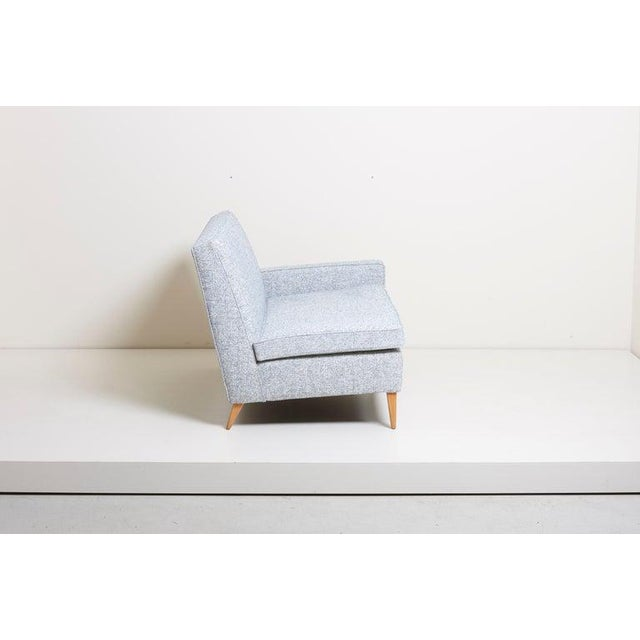 1950s Paul McCobb Sectional Corner Sofa Custom Craft/ Planner Group Newly Upholstered For Sale - Image 5 of 13