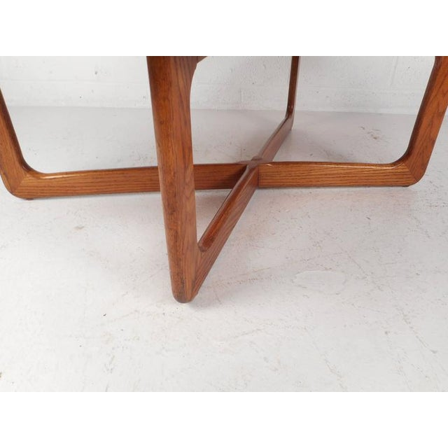 Mid-Century Modern Kidney Shaped Coffee Table by Lane Furniture - Image 5 of 9