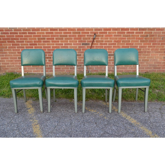 Steelcase Mid Century Office Chairs - Set of 4 For Sale - Image 5 of 8