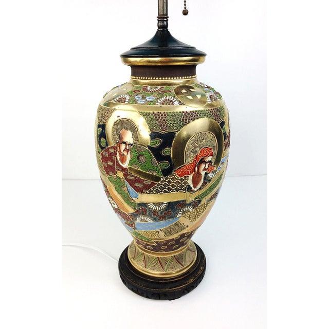 Japanese Satsuma Vase Table Lamp Chairish