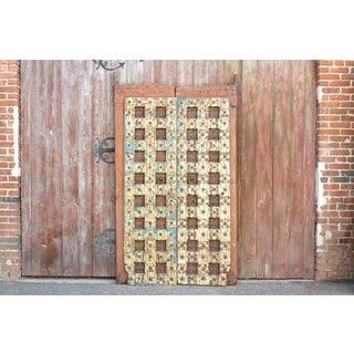 Antique Indian Temple Doors Preview