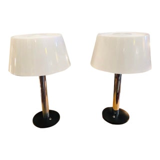 Vintage 1960s Lightolier Lamp by Gerald Thurston - a Pair For Sale