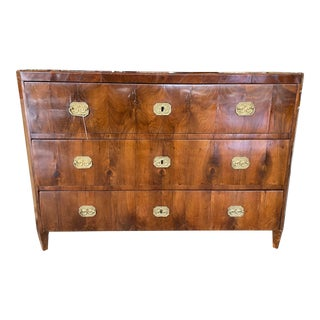 1820s Antique Biedermeier Chest of Drawers For Sale