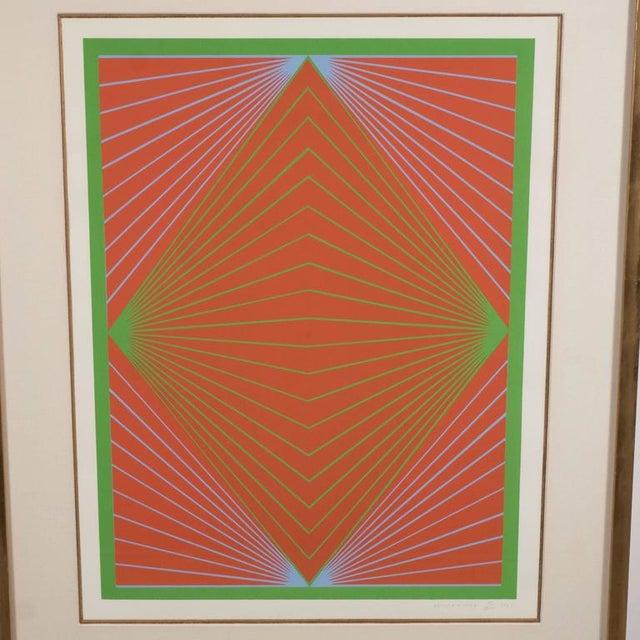 "Diamond Chroma, from the New York Ten portfolio, from the portfolio, 1965. Screenprint in colors. 20"" H X 15"" W (51.1 x..."