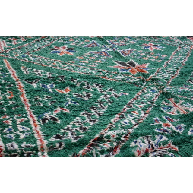 Boho Chic Moroccan Rug - 10'9'' X 6'4'' For Sale - Image 3 of 5