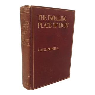 "1917 ""The Dwelling Place of Light"" Winston Churchill Book For Sale"