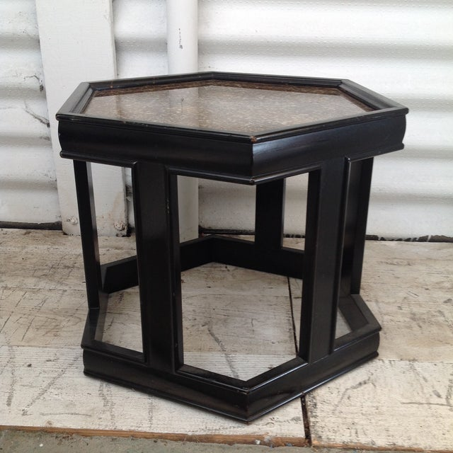 John Keal Black Salt Table - Image 4 of 7