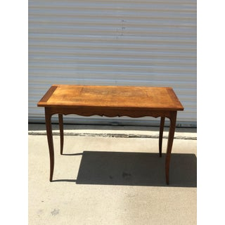 1950s French Country Wood Breakfast Table Preview