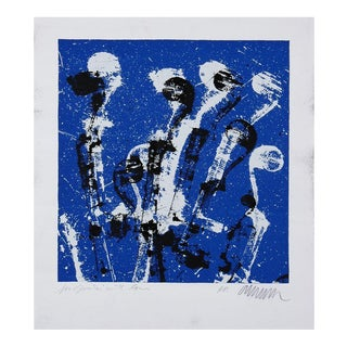 Original signed lithograph by Arman