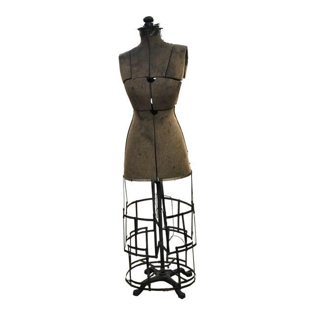 Antique Grand Rapids Dress Form Mannequin For Sale