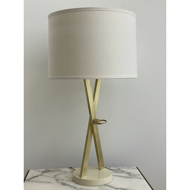 1960's X-Base Table Lamp by Laurel For Sale - Image 9 of 13