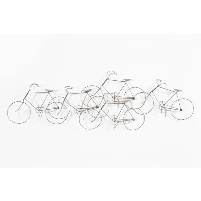 Bicycle Sculpture by Curtis Jere For Sale In Chicago - Image 6 of 6