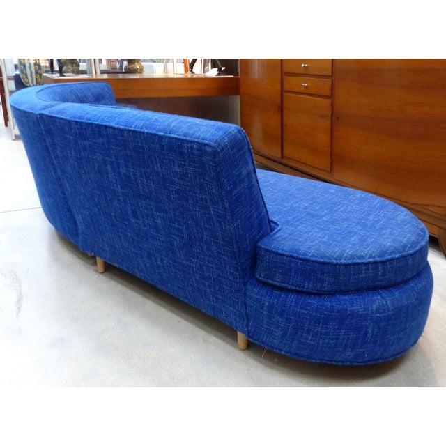 Mid-Century Modern Serpentine Sofa, circa 1950 - Image 4 of 11