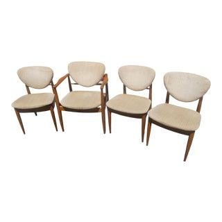 1960's Finn Juhl for John Stuart Dining Chairs- Set of 4 For Sale