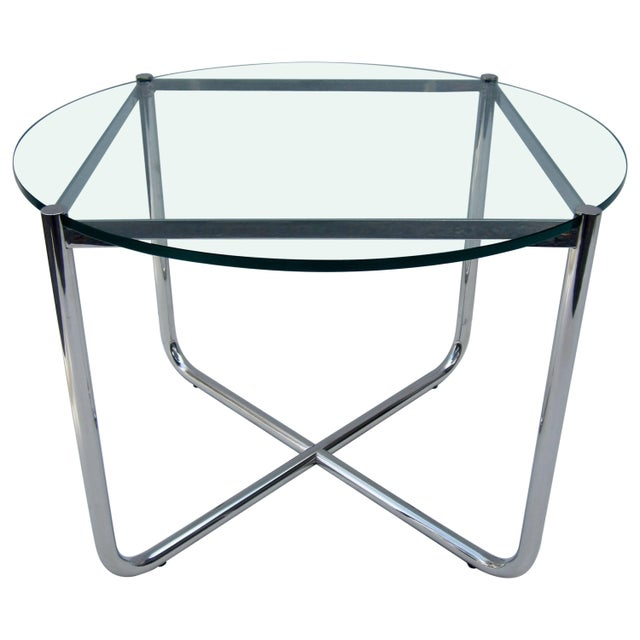 Side Table By Mies Van Der Rohe For Knoll Chairish