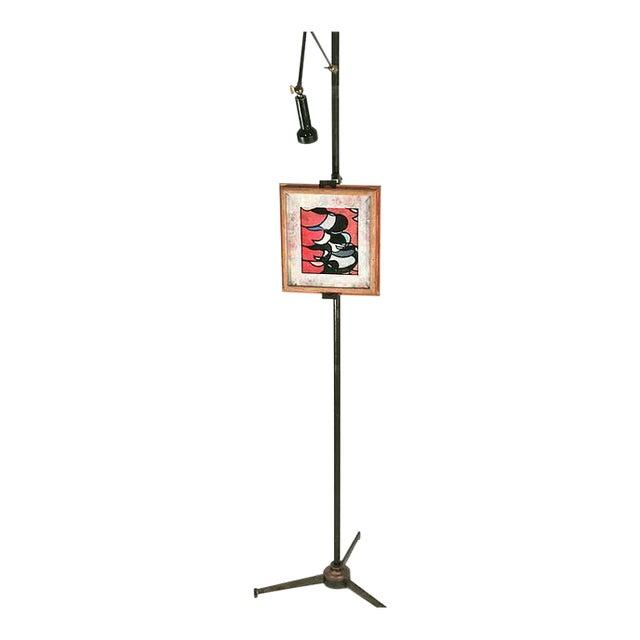 Arredoluce Easel Lamp Angelo Lelli For Sale