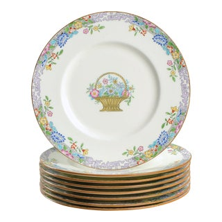 1920s Minton Dinner Plate - Set of 8 For Sale
