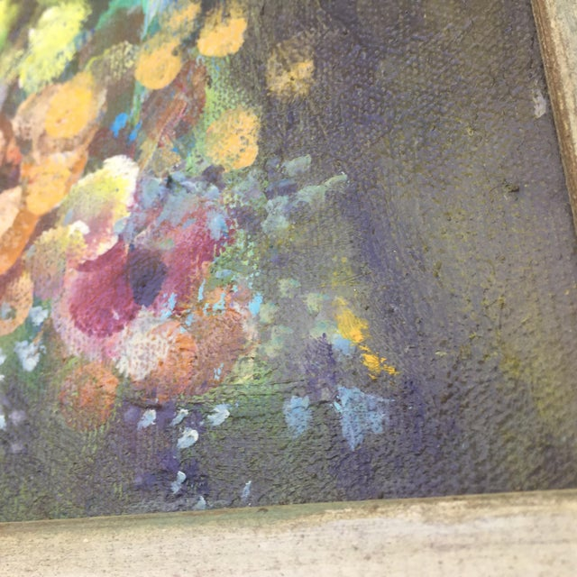 Floral Oil Painting - Image 5 of 8