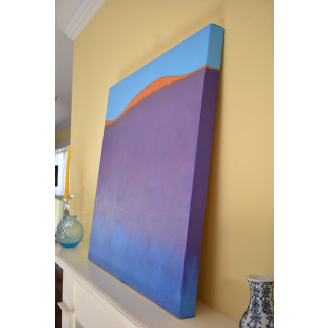 """Stephen Remick """"Sunset on the Mountain"""" Contemporary Abstract Painting For Sale In Providence - Image 6 of 10"""