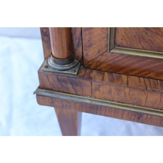 Brown 19th Century Italian Fruitwood Nightstand For Sale - Image 8 of 12