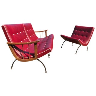 Scoop Lounge Chairs - a Pair For Sale