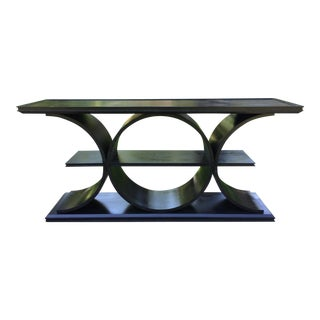 Contemporary Strathmore Console Table For Sale