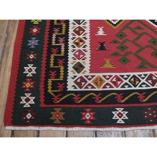 Antique Sharkoy Kilim - Image 8 of 10