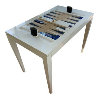 Contemporary Oomph Back Gammon Table For Sale