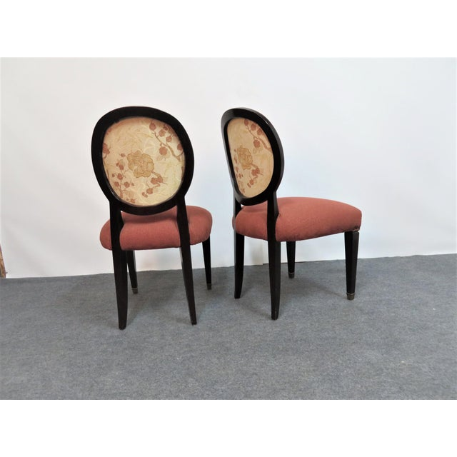 John Widdicomb Hepplewhite Dining Chairs - Set of 6 - Image 4 of 8