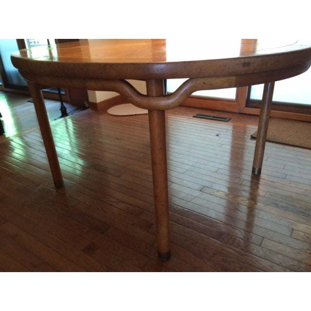 Baker Asian-Style Canadian Elm Table - Image 4 of 6