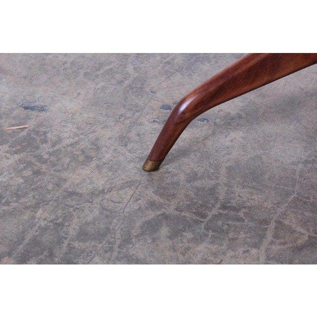 Edward Wormley Dunbar Janus Side Table With Natzler Tiles For Sale - Image 12 of 13