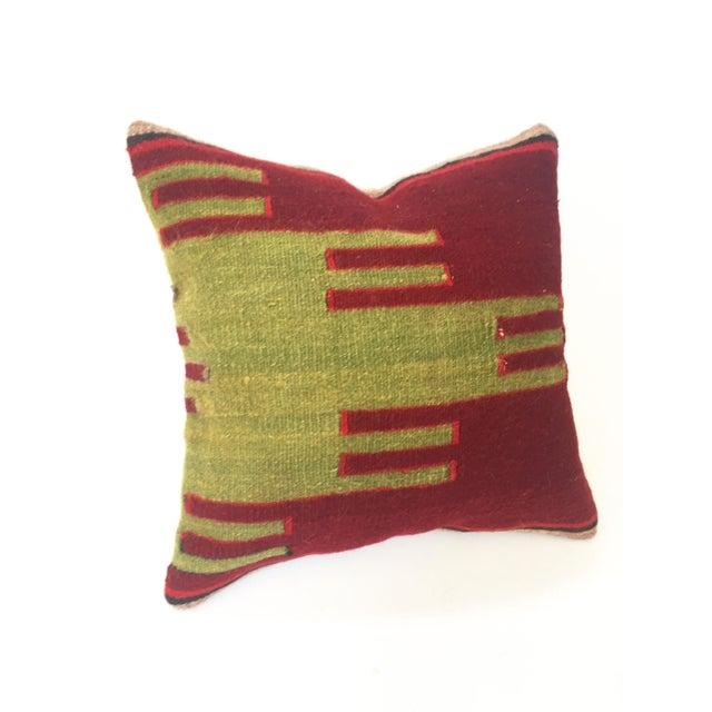 Vintage Kilim Square Pillow - Image 2 of 5