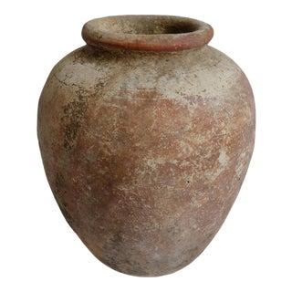 Antique Java Terra Cotta Urn For Sale