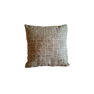 Pollack Dapper Wool Birch Bark Pillow Cover For Sale