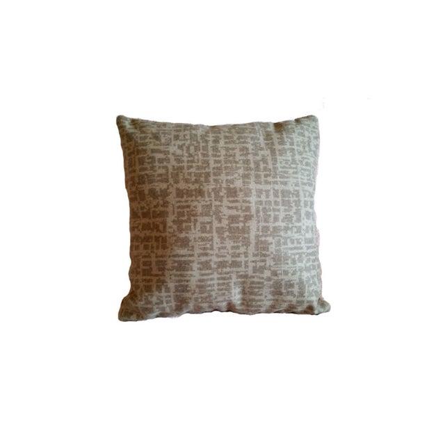 Pollack Dapper Wool Birch Bark Pillow Cover - Image 1 of 3