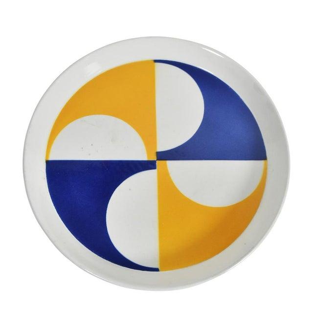 1960s Gio Ponti for Franco Pozzi Ceramic Plates For Sale - Image 5 of 12