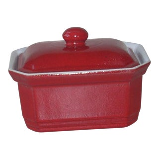 Emile Henry Red Small Casserole For Sale