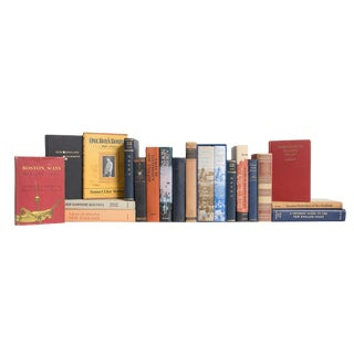 New England Culture Book Set, (S/20) For Sale