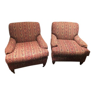 Century Furniture Cortes Club Chairs - a Pair