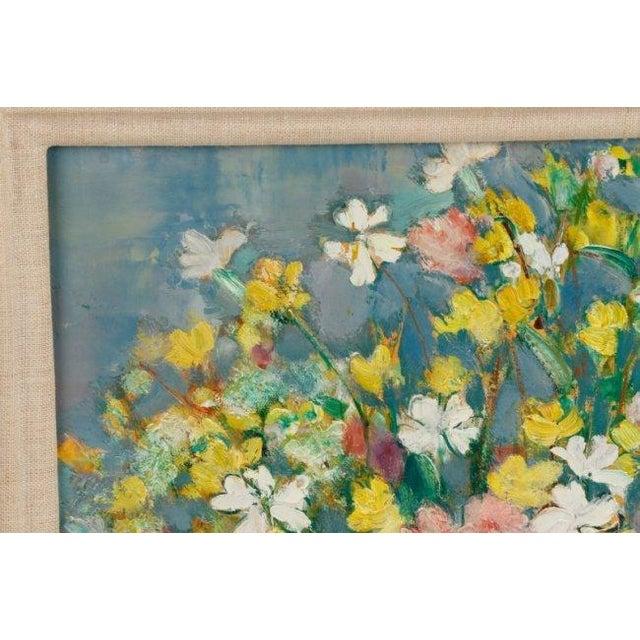 """""""Bouquet Aux Silenes Blancs"""" by Andre Vignoles - Image 4 of 10"""