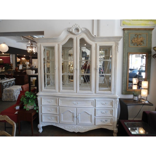 White China Hutch by Fairmont Designs - Image 2 of 10