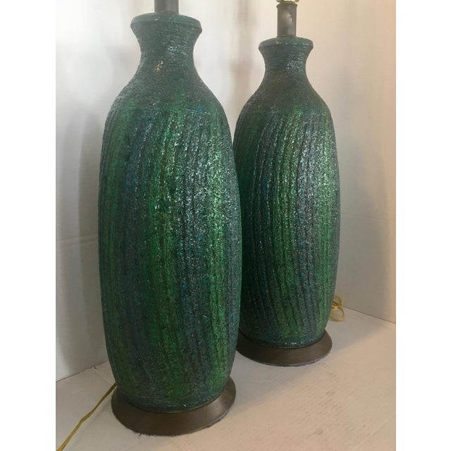 Quartite Creative Corp. Vintage Quartite Creative MCMLXV Table Lamps - A Pair For Sale - Image 4 of 8